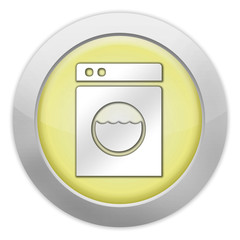 "Light Colored Icon (Yellow) ""Laundromat"""
