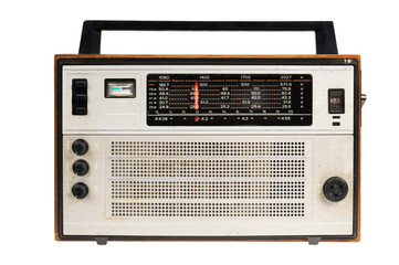 Oldfashioned retro radio