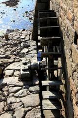 le moulin à marée sur l'île de bréhat