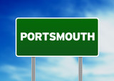 Green Road Sign -  Portsmouth, England