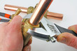 assemble plumbers fittings