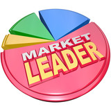 Market Leader - Biggest Slice Portion of Pie Chart Shares poster