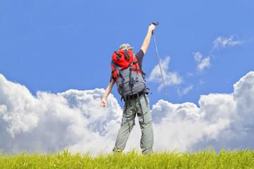 rock Climbing on cloud Summit