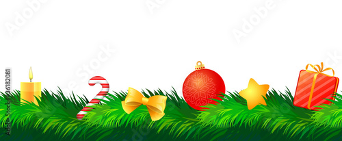 christmas decoration - seamless pattern