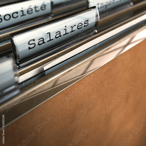 charges fixes - salaires