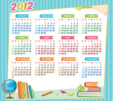 2012 educational calendar