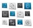 Science and Research Icons - Vector Icon set