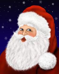 Weihnachtsmann Portrait