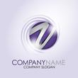 Alphabet Logo Corporate Marke Firmenlogo, initial letter V 3D