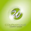 Alphabet Logo Corporate Marke Firmenlogo, initial letter W 3D