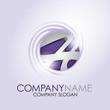 Alphabet Logo Corporate Marke Firmenlogo, initial letter H 3D