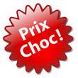 """Tampon """"PRIX CHOC"""" (soldes déstockage promotions offre spéciale)"""