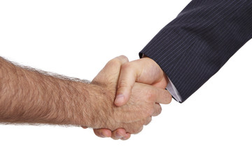 Begrüßung, Handschlag