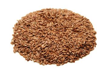 Brown flax seeds