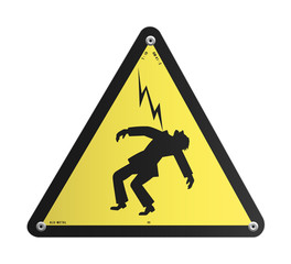 Panneau - Danger électrique