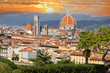 Florence in spring time, Tuscany, Italy - 36195439
