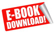roter Aufkleber - E-book download