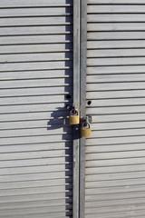 Locked showcase.