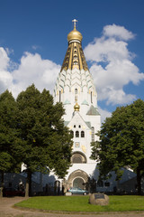 St-Alexi russian orthodox church in Leipzig, Germany