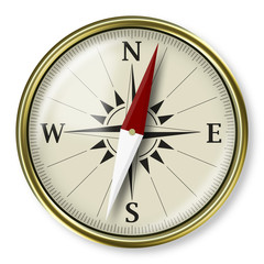 Compass, strategic plannig concept