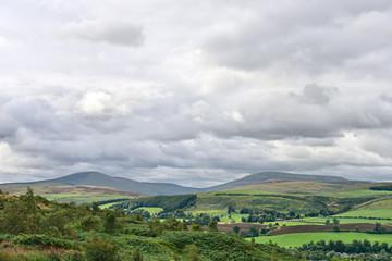 Cheviot Hills, Northumberland, England, UK