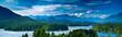 Leinwandbild Motiv Panoramic view of Tofino, Vancouver Island, Canada