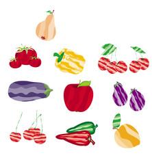 frutta stilizzata