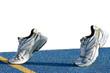Sport shoes tartan