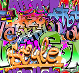 Urban art. Grunge graffiti hip-hop design - 36210090