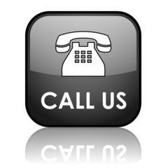 CALL US Web Button (hotline phone contact now customer service)