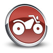 """Red 3D Style Icon """"All Terrain Vehicle"""""""