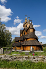 Église en bois de Borgund