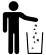 Mülleimer Umwelt sauber halten entsorgen 3