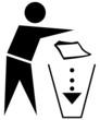 Mülleimer Umwelt sauber halten entsorgen 4