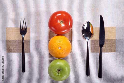 Gemüse und Obst als Ampel, Gesundheit geht vor