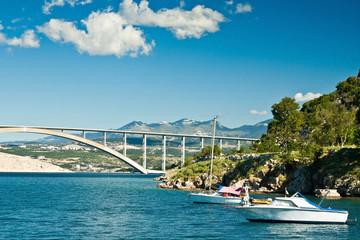 the bridge on island Krk