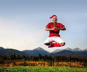 Christmas yoga