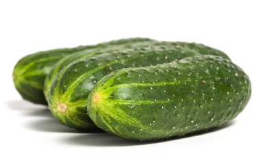Multiple cucumbers