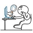 figur onlinespionage