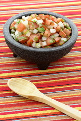 fresh pico de gallo or salsa fresca