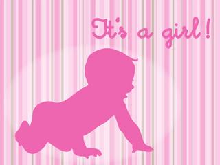 It's a girl - es ist ein Mädchen!