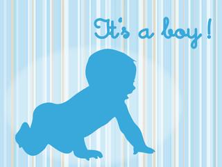 It's a boy - es ist ein Junge!
