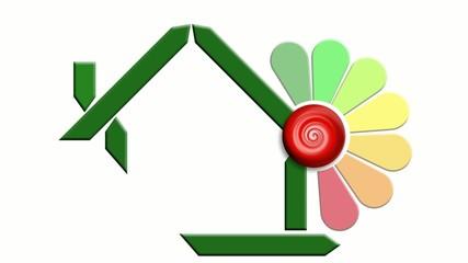 Energetic saving video