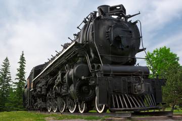 Historic Steam Powered Freight Train