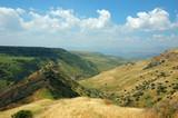 Israeli national park Gamla fortress at the Golan Hights - symbo poster
