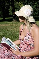 donna in lettura