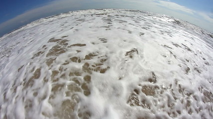 Fisheye Beach