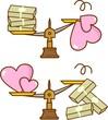 お金と愛情の価値