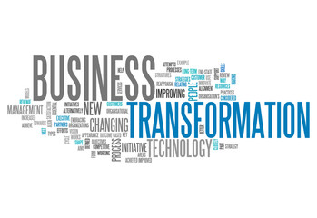 "Word Cloud ""Business Transformation"""