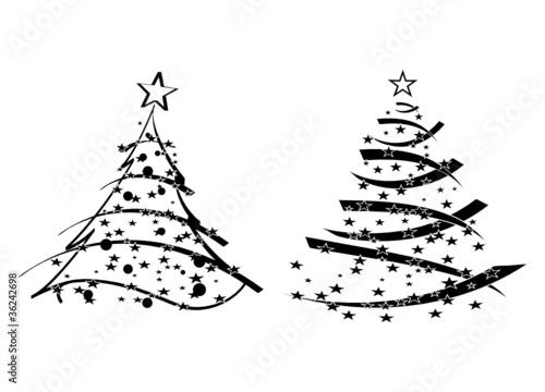 gamesageddon abstrakte weihnachtsb ume tannenbaum schwarzwei vorlage eps lizenzfreie. Black Bedroom Furniture Sets. Home Design Ideas